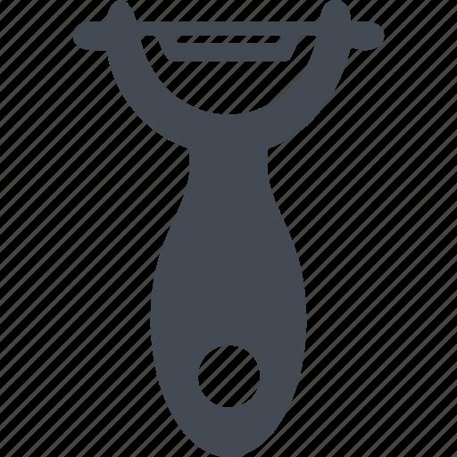 cook, cooking, kitchen, kitchenware, peeler icon