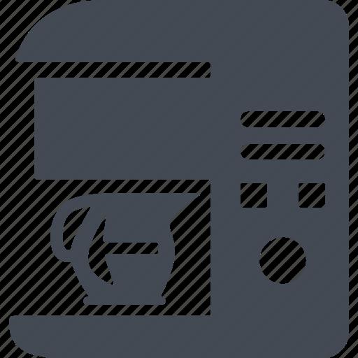 coffee maker, kitchen, kitchen appliances, kitchenware icon