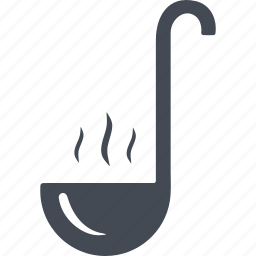 capacity, kitchen, kitchenware, ladle icon