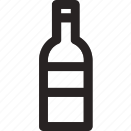 bottle, drink, kitchen, wine icon