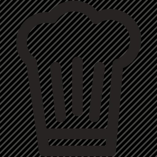 Chef, chef hat, cook, cooking, dinner, hat, kitchen icon - Download on Iconfinder