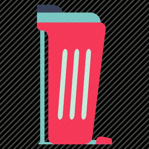 cook, dust bin, food, garbage pail, garbage pail icon, kitchen, restaurant icon