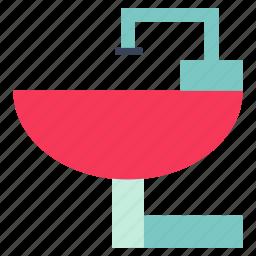 cook, food, kitchen, restaurant, sink, sink icon, washbowl icon