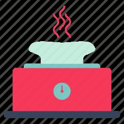 cook, food, kitchen, restaurant, roasting spit, toaster, toaster icon icon