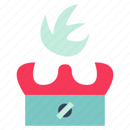 burn icon, burner, cook, firebug, food, kitchen, restaurant icon