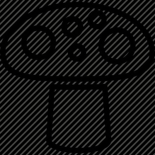food, mushroom, toadstool, vegetable icon