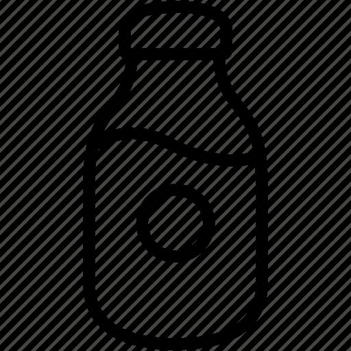 Bottle, milk, dairy, drink, empty icon - Download on Iconfinder