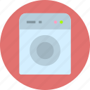 clothes, clothing, washing machine icon