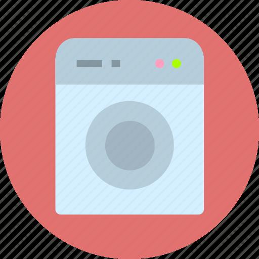 clothes, clothing, washing machine icon