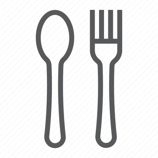 cafe, cook, diner, eat, fork, kitchen, spoon icon