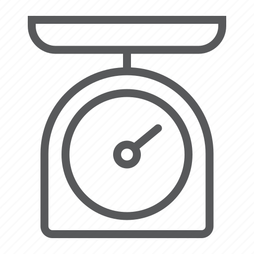 balance, cook, kitchen, measure, scale, weight icon