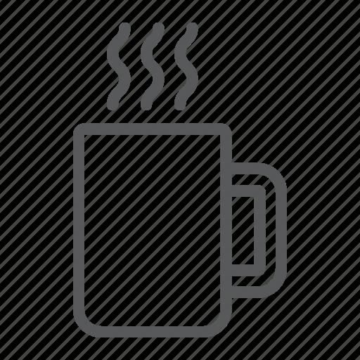 cafe, coffee, cup, drink, hot, mug, tea icon