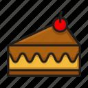cake, food, pie