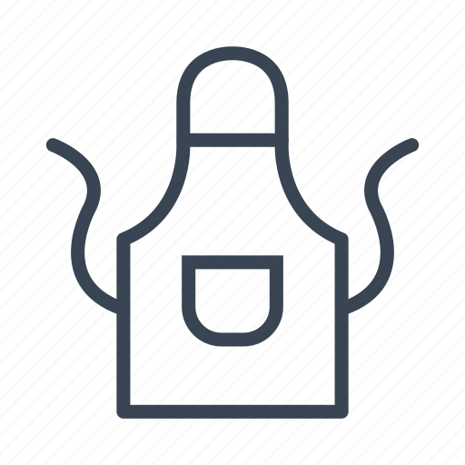Apron, cooking, kitchen icon - Download on Iconfinder