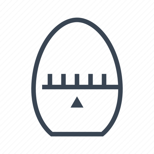 Egg, kitchen, time, timer icon - Download on Iconfinder