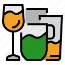 beverage, cocktail, drink, glass, glasses, juice, mug icon