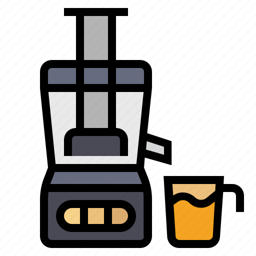 appliance, cooking, drink, juice, juicer, kitchen icon