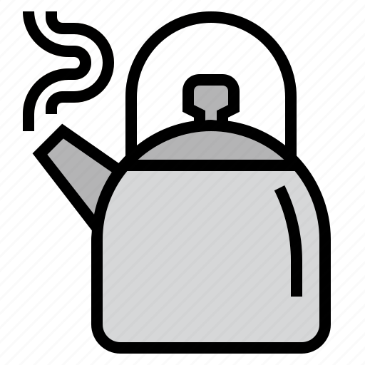 coffee, drink, hot, kettle, kitchen, tea, teapot icon