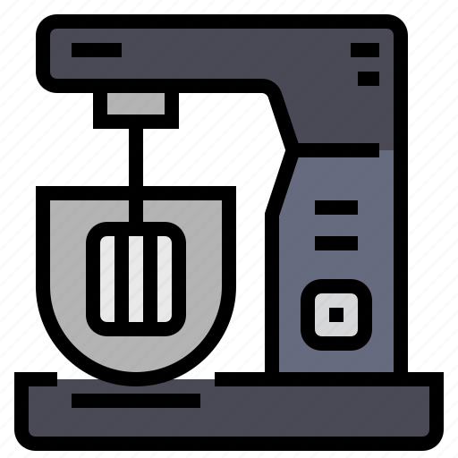 appliance, bakery, cooking, food, kitchen, mixer, restaurant icon