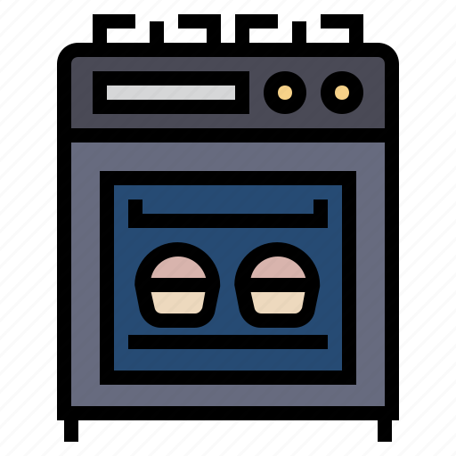 cooking, kitchen, meal, stove icon