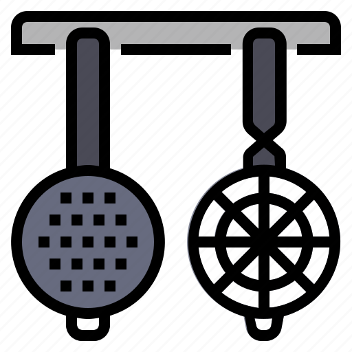 cooking, food, kitchen, kitchenware, restaurant, strainers kitchen icon