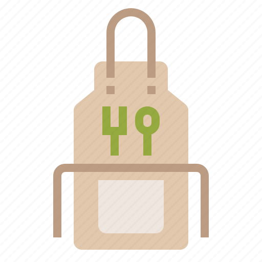 apron, chef, cook, cooking, kitchen, restaurant icon