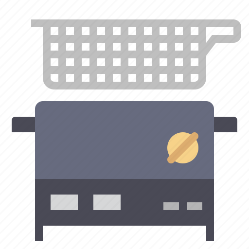 cooking, deep fryer, food, french fries, fry, kitchen, restaurant icon