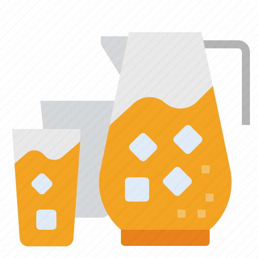 beverage, cocktail, drink, glass, jug, juice, water icon
