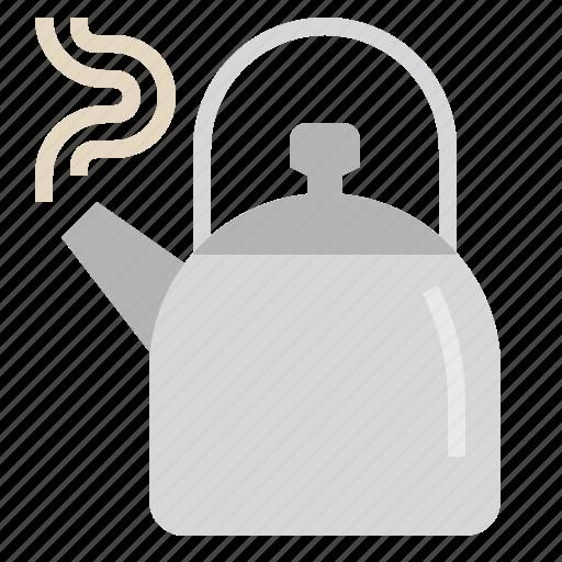 coffee, cooking, drink, kettle, kitchen, tea, tespot icon