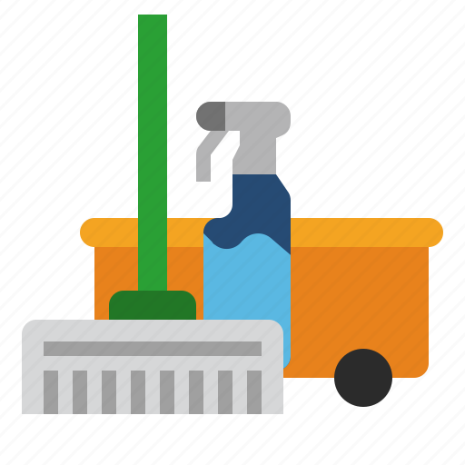 bathroom, clean, cleaner, cleaning, floor, mop, washing icon