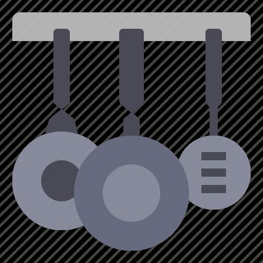 cooking, food, kitchen, pan, pans, utensil icon