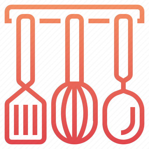cook, cooking, kitchen, ladle, restaurant, spatula, whisk icon