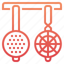 cooking, kitchen, restaurant, strainers kitchen icon