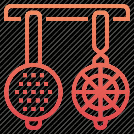 cooking, kitchen, restaurant, strainers kitchen icon