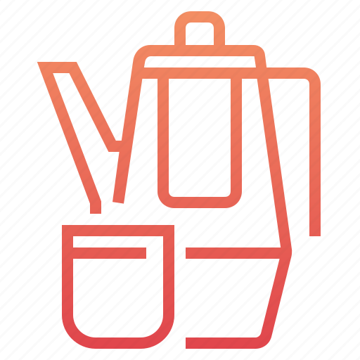 beverage, coffee, cup, drink, kettle, tea, teapot icon