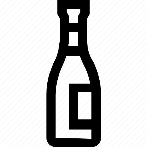 alcohol, bottle, drink, sauce, water, wine icon