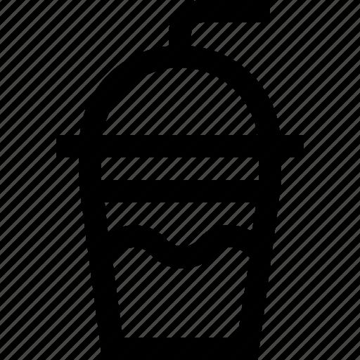 coffee, cream, drink, hot, ice, milk, pipette icon
