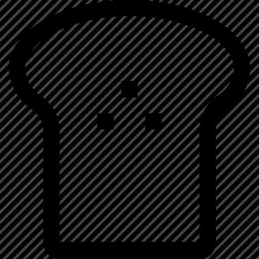 bakery, bread, breakfast, food, meal, toast icon