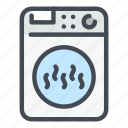 appliance, dryer, household, houseware, kitchen, laundry, washer icon