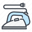 appliance, electric, household, iron, ironing, kitchen, smoothing