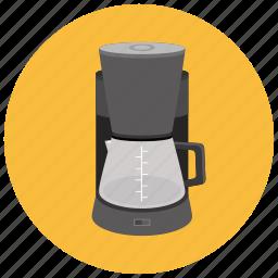 appliances, brew, coffee, home, kitchen, percolator icon