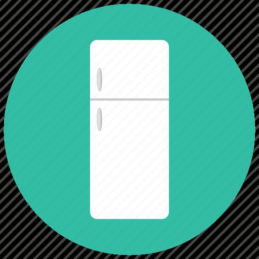 appliances, food, fridge, home, kitchen, storage, supply icon