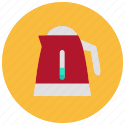 appliances, home, hot, kettle, kitchen, tea, water icon