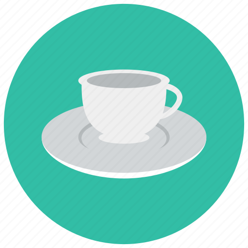 coffee, cup, drink, home, saucer, tea icon