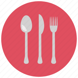 cutlery, fork, home, knife, meals, utensils icon