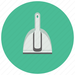 brush, cleaning, dustpan, home, housekeeping, tool icon