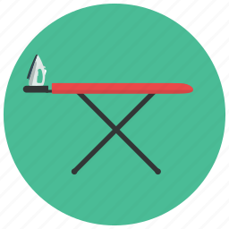 board, home, iron, ironing, stand, tool icon