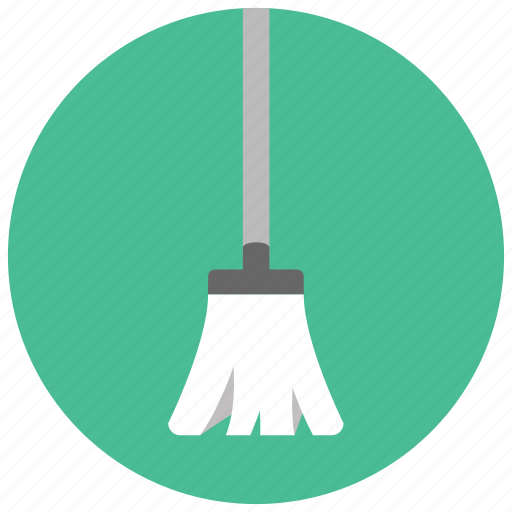 cleaning, home, housekeeping, mop, tool icon