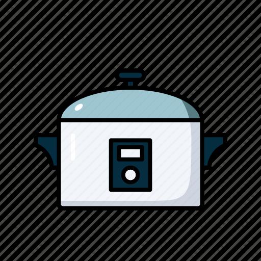 appliances, cooker, food, kitchen, pressure icon