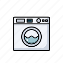 appliances, dryer, kitchen, machine, washing